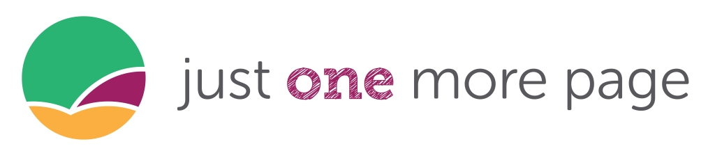 Just One More Page Logo